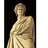 Sculpture, Dante alighieri