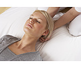 Entspannung, Behandlung, Massage, Nackenmassage, Shiatsu
