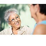 Senior, Meeting & Conversation, Amuse, Gossip, Interview