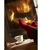 Relaxation & Recreation, Relaxation, Feet, Comfortable, Domestic Life