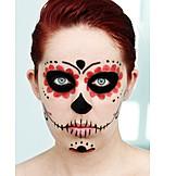 Painted, Rouged, Makeup, Día de los muertos
