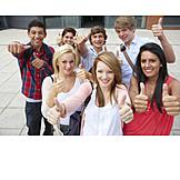 Education, School Children, Passed, Baccalaureate, Graduation