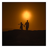 Care & Charity, Silhouette, Family