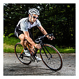 Sport & Fitness, Radfahrer, Triathlet