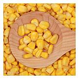 Maize, Maize grain