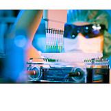 Science, Research, Laboratory, Multichannel Pipette, Micro Test Tube
