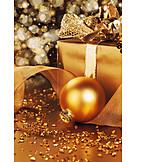 Christmas, Still Life, Christmas Ball, Christmas Present