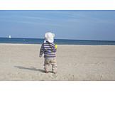 Child, Holidays, Beach Holiday