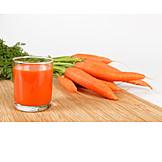 Vegetable, Carrot juice