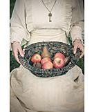 Fruit, Harvest, Nostalgia, Rural Scene, Fruit Basket