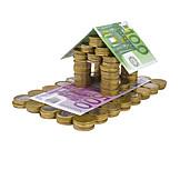 Bausparvertrag, Miete, Hauskauf, Wohngeld, Gebäudeversicherung