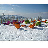 Winter, Seat, View, Winter Holidays
