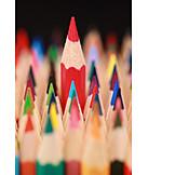 Individuality & Uniqueness, Crayon, Upward