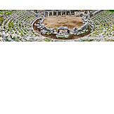 Amphitheater, Bleachers, Priene, Athena temple