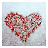 Symbol, Ice, Heart
