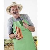Harvest, Farmer, Gardener, Gardening