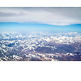 Aerial View, Himalaya