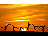 Vitality, Gymnastics, Hand Stand, Headstand