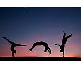 Vitality, Gymnastics, Back Handspring
