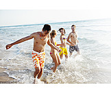 Teenager, Friendship, Togetherness, Summer, Beach Holiday