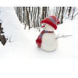 Winter, Snowman, Winter Decoration