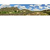 Granite rocks, Alcantara, Extremadura
