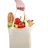 Groceries, Food, Shopping, Shopping Bag