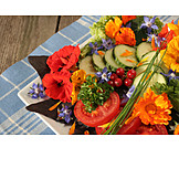 Summer, Salad Plate