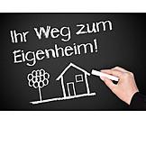 Eigenheim, Bausparvertrag, Baufinanzierung