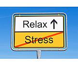 Relax, Relaxen, Stress & Belastung