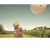 Mädchen, Sorglos & Entspannt, Luftballon
