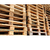 Palette, Pallet stacking, Euro pallets