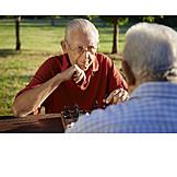 Senior, Active Seniors, Chess, Chess, Game Board