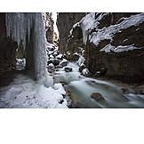 Winter, Icicle, Partnachklamm