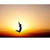 Jump, Vitality, Athlete, Jumping