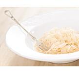 Plate, Sauerkraut