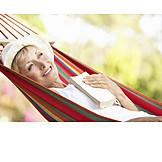 Woman, Senior, Enjoyment & Relaxation, Relaxation & Recreation