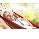 Woman, Senior, Enjoyment & Relaxation, Relaxation & Recreation