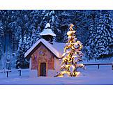 Christmas, Christmas tree, Chapel