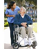 Senior, Altenpflegerin, Pflegepersonal