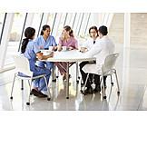 Pause & Auszeit, Arzt, Krankenhaus, Medizin & Gesundheitswesen, Pflegepersonal