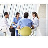 Meeting & Conversation, Hospital, Medicine & Health Care