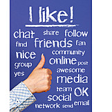 Internet, Social Media, Social Network, Like