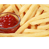 Ketchup, French fries