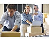 Logistics, Sending, Employers, Mail order company