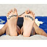 Holiday & Travel, Vacation, Foot
