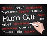 Exhaustion, Illness, Stress & Struggle, Burnout