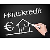 Hauskauf, Baufinanzierung, Hauskredit