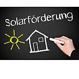 Alternative Energie, Solar, Solarförderung