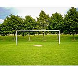 Gate, Soccer field, Goal, Soccer field